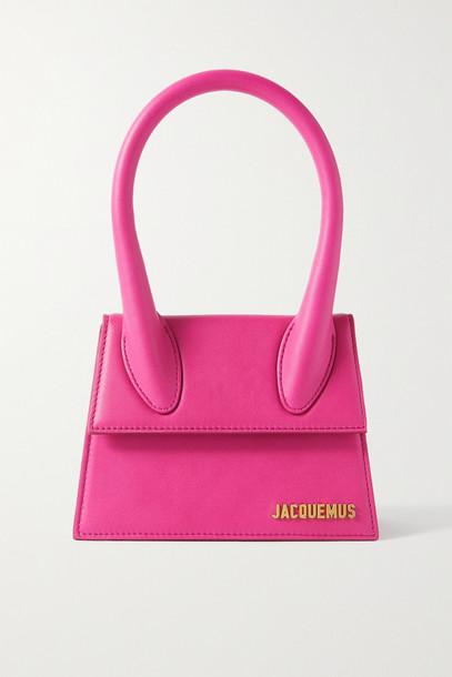 Jacquemus - Le Chiquito Moyen Leather Shoulder Bag - Pink