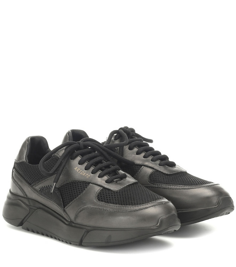 Axel Arigato Genesis leather and mesh sneakers in black