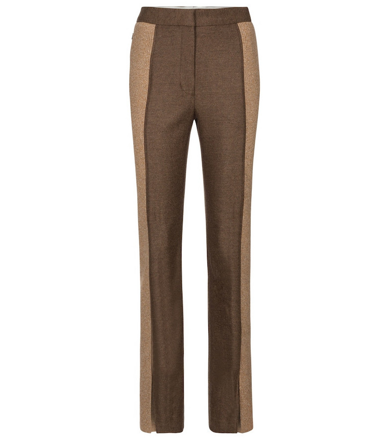 Burberry Wool and cashmere pants in brown