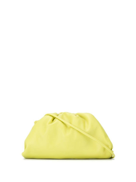 Bottega Veneta The Pouch clutch bag in green