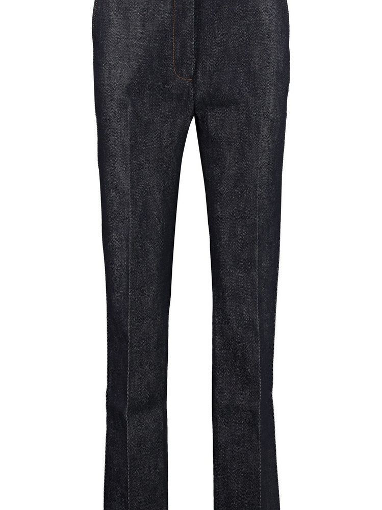 Burberry High-rise Straight-leg Jeans in denim / denim