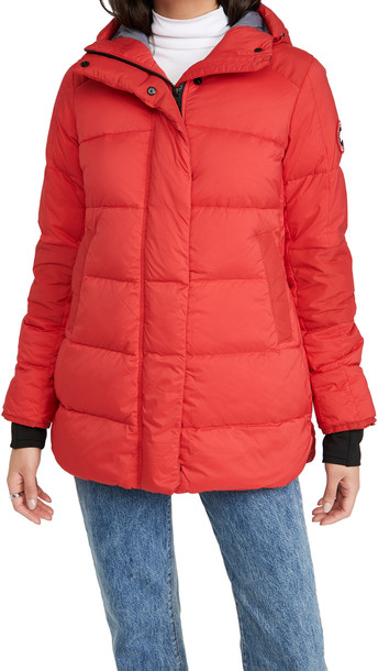 Canada Goose Alliston Jacket in red