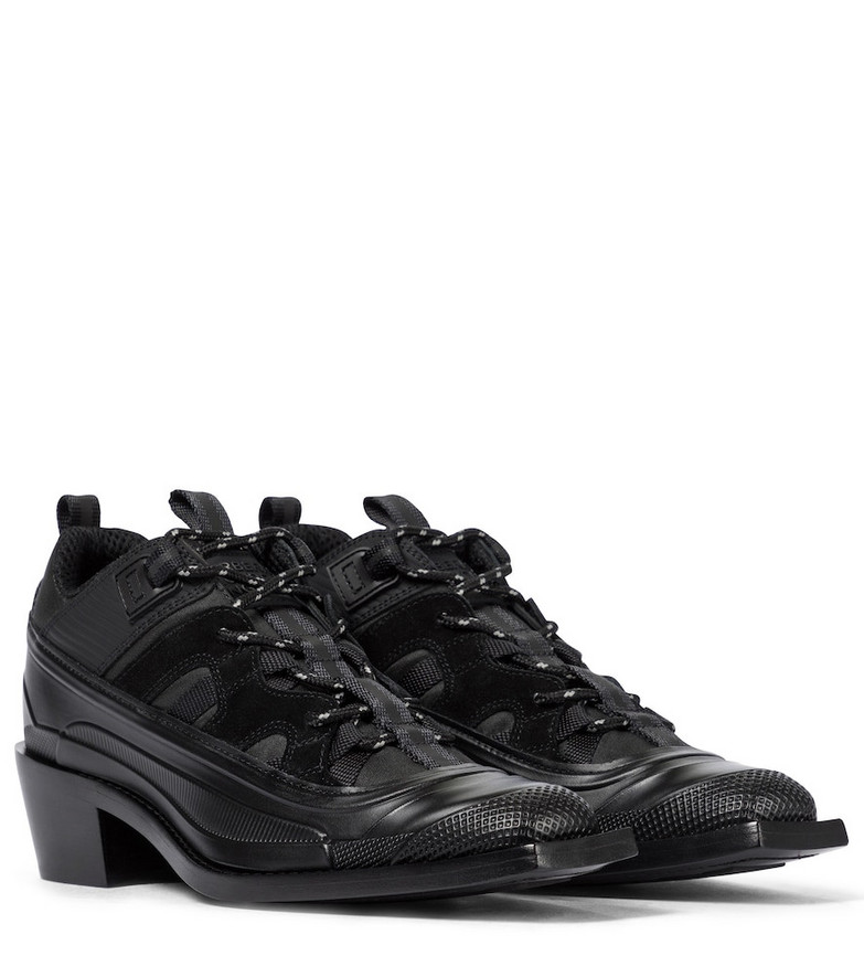 Burberry Exclusive to Mytheresa – Future Archive Derby shoes in black