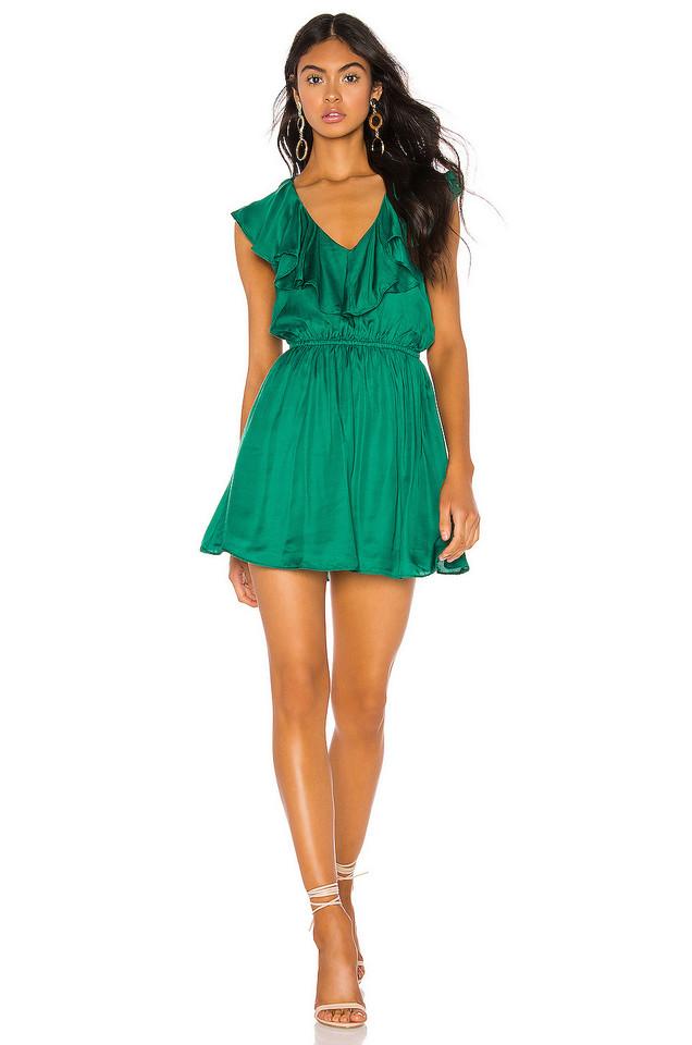 Tularosa Vermont Dress in green
