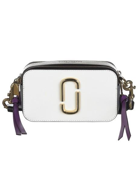 Marc Jacobs Snapshot Shoulder Bag in white / multi