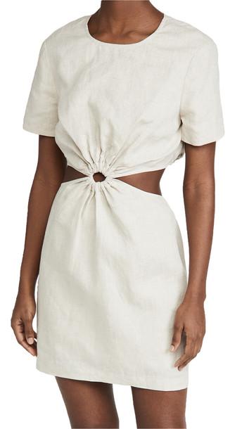 STAUD Epona Dress in natural