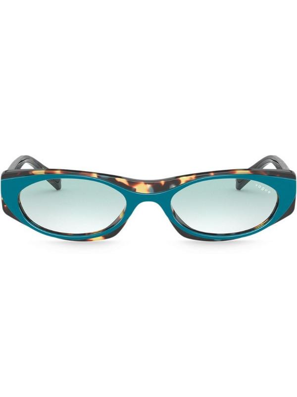 Vogue Eyewear oval frame sunglasses in blue