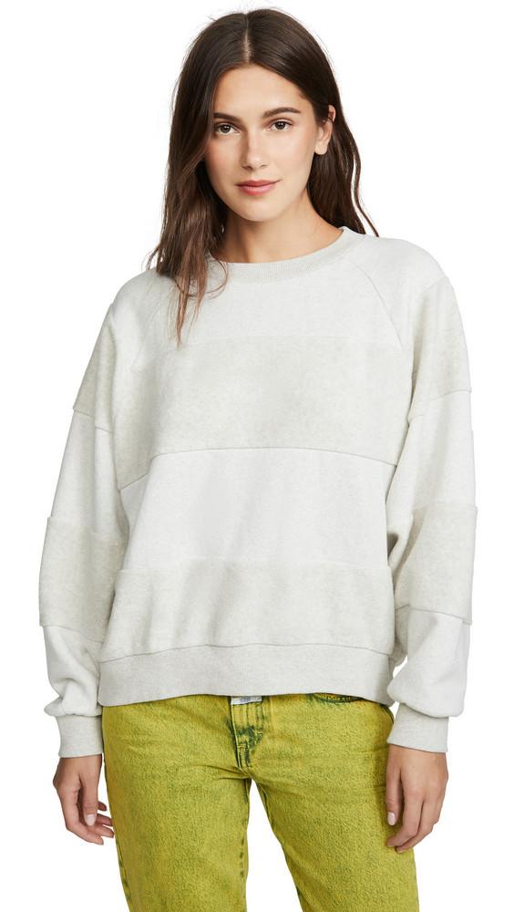 Closed Striped Sweater in grey