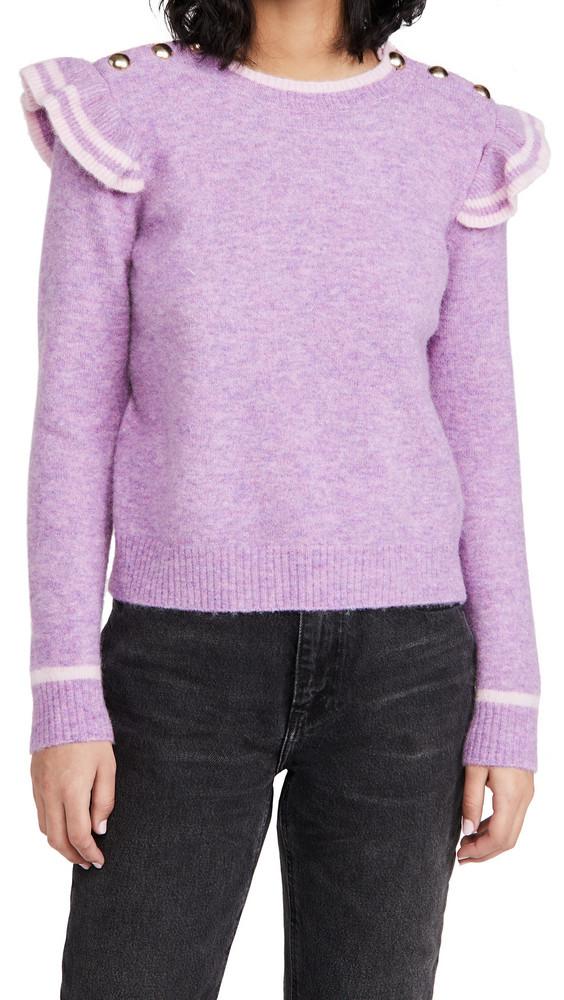 Generation Love Brynlee Sweater in pink / purple