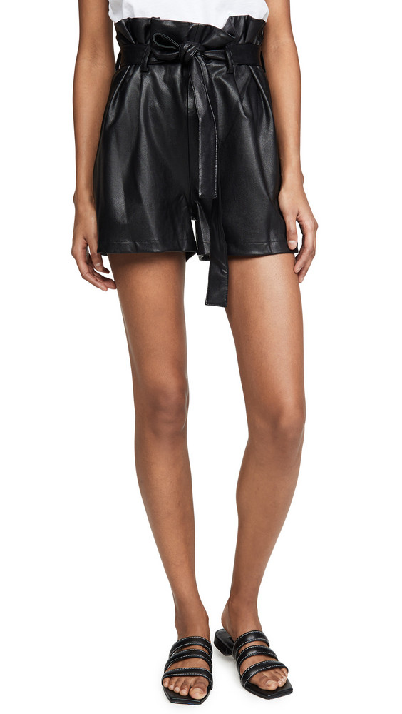Amanda Uprichard Tessi Shorts in black