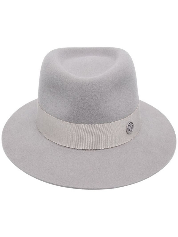 Maison Michel Andre fedora hat in grey