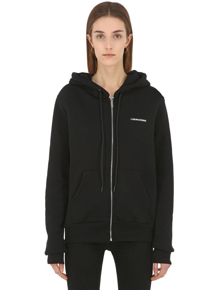 Luisaviaroma Zip-up Sweatshirt Hoodie in black