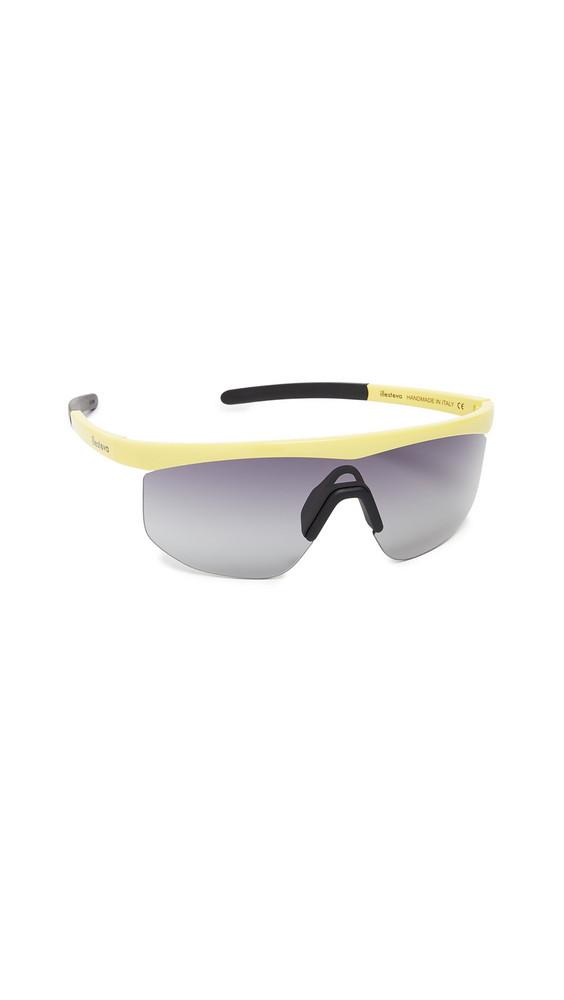 1d5488462d9c3 Illesteva Managua Sporty Shield Sunglasses in grey   yellow
