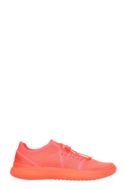 Adidas by Stella McCartney Red Solar Mesh Pure Boosts Sneakers