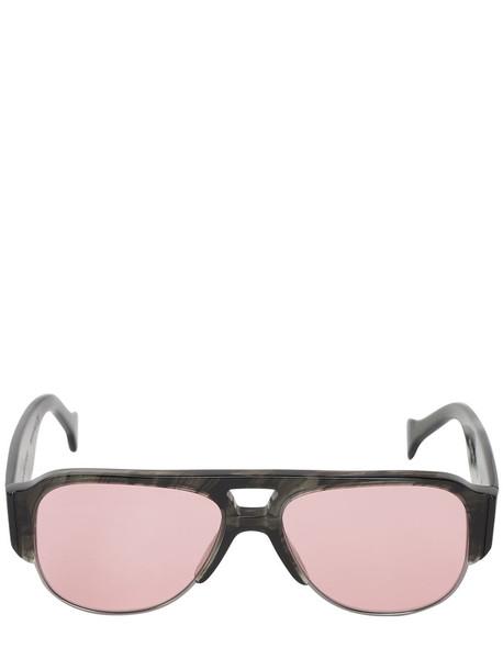 SATURNINO EYEWEAR Meta Neptune 2 Lr Sunglasses in black / pink