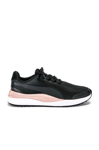 Puma Pacer Next FS Metallic Sneaker in black