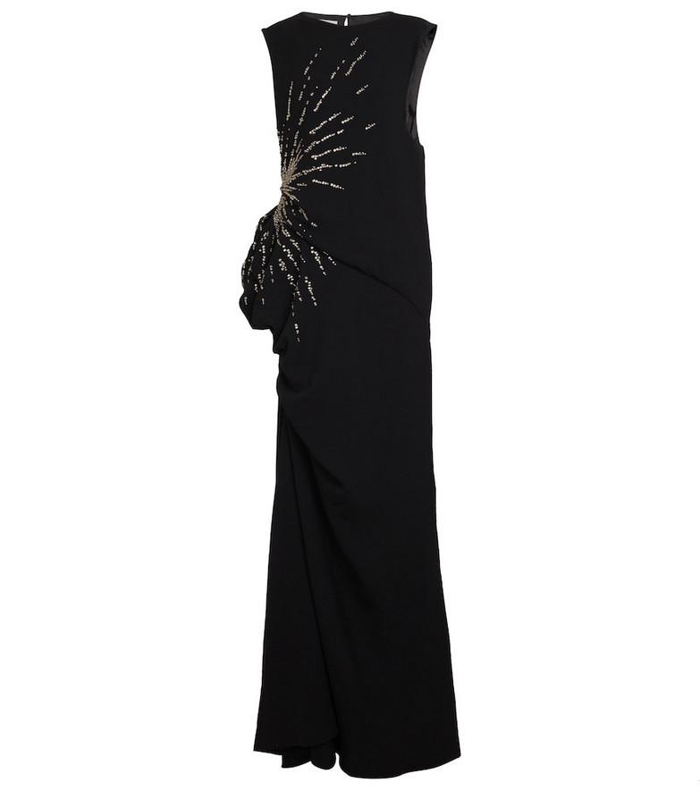 Dries Van Noten Sequined gown in black