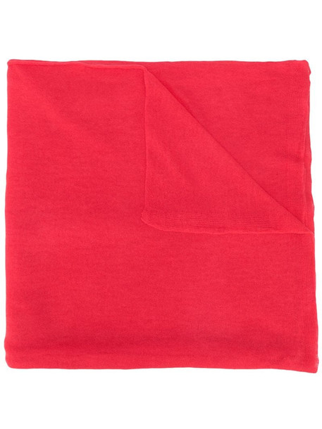 Joseph fine-knit cashmere scarf in pink