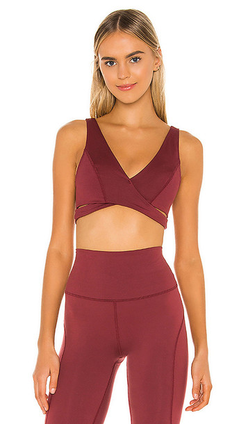 Free People X FP Movement Good Times Bra in Red