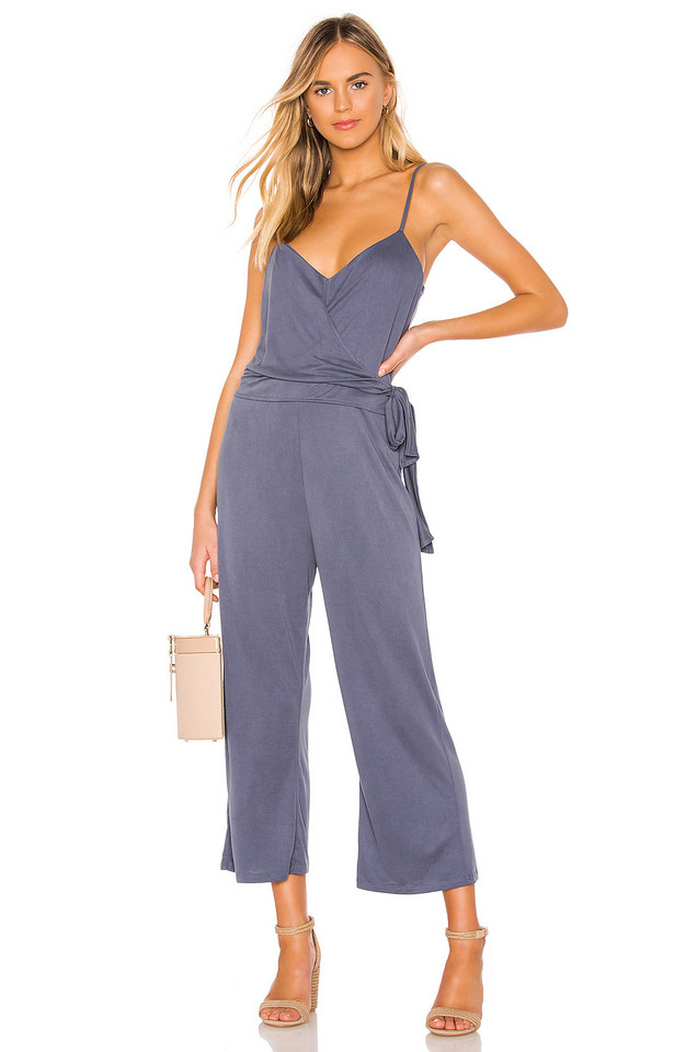 HEARTLOOM Jamie Jumpsuit in blue