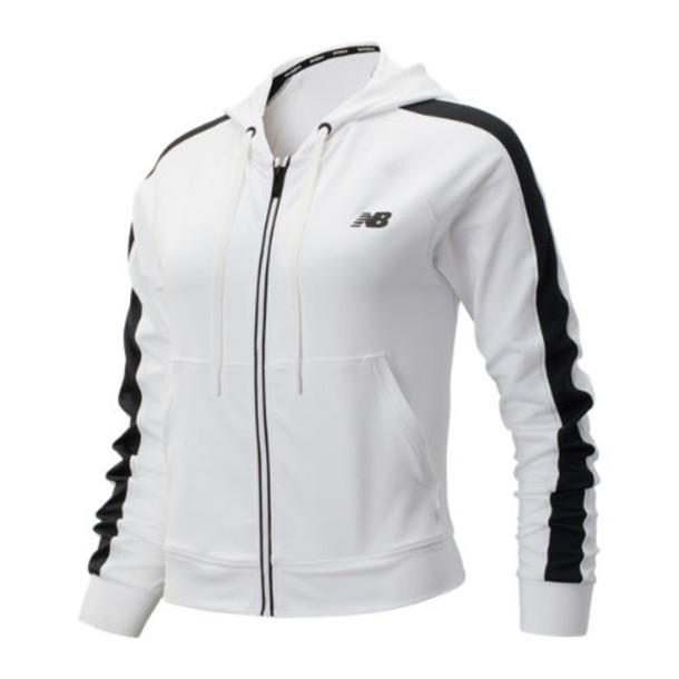 New Balance 93103 Women's Transform Jacket - White/Black (WJ93103WT)