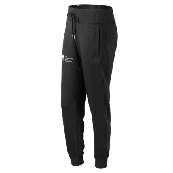 New Balance 73535 Women's NYC Marathon Finisher Essentials Sweatpant - Black (WP73535VBM)