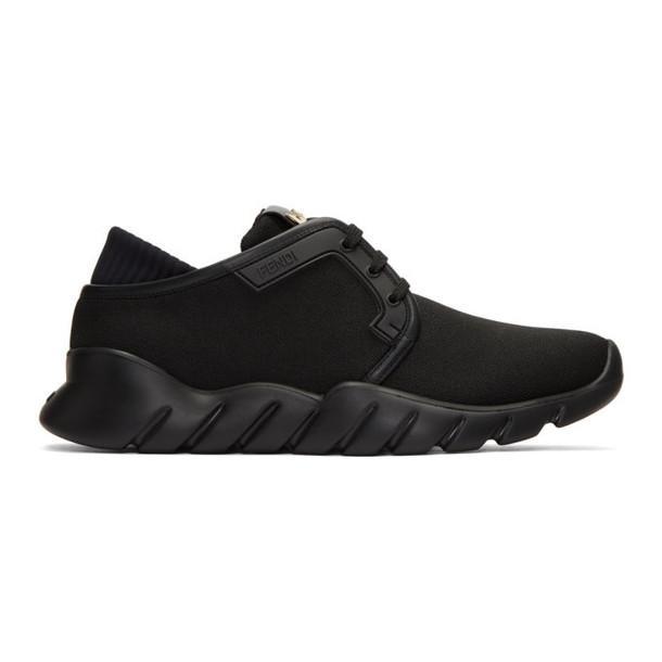 Fendi Black Tech Sneakers