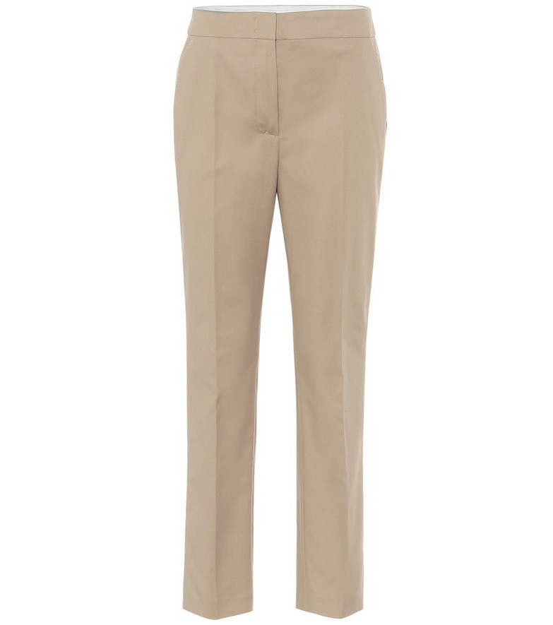 Dorothee Schumacher Bold Silhouette cotton pants in beige
