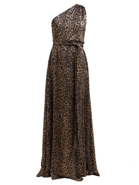 Melissa Odabash - Brinkley Metallic Leopard Print Maxi Dress - Womens - Leopard