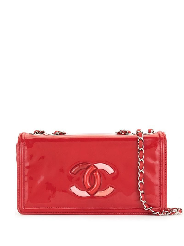 Chanel Pre-Owned CC shoulder bag in red