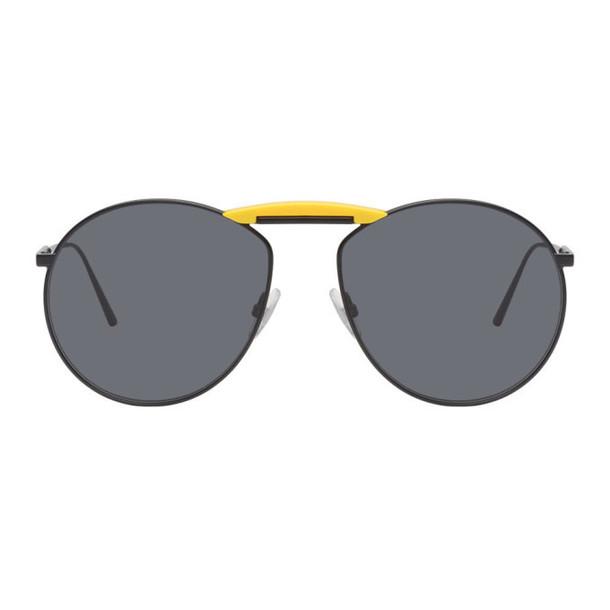 Gentle Monster Black Fendi Edition Gentle Fendi No. 2 Sunglasses