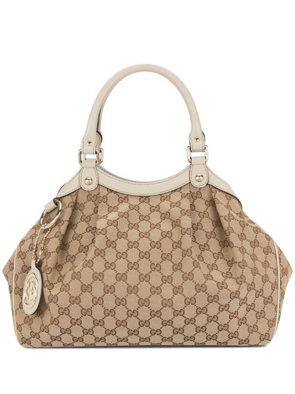 Gucci Pre-Owned GG Supreme tote bag in brown