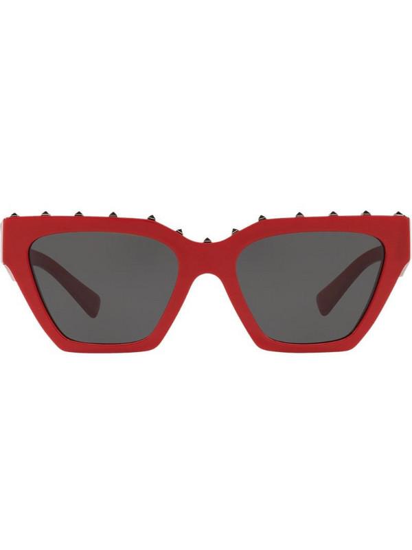 Valentino Eyewear cat eye frame sunglasses in red