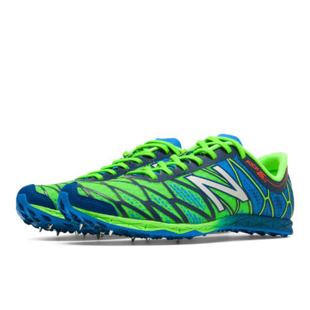 New Balance XC900v2 Spike Men's Cross Country Shoes - Lime Green/Bright Blue (MXC900HS)