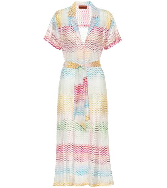 Missoni Mare Crochet knit midi dress