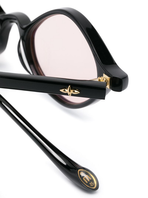 Matsuda M1026 diamond-frame sunglasses in black