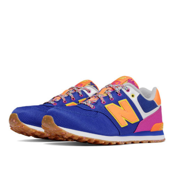 New Balance 574 Weekend Expedition Kids Grade School Lifestyle Shoes - Purple/Pink (KL574T5G)