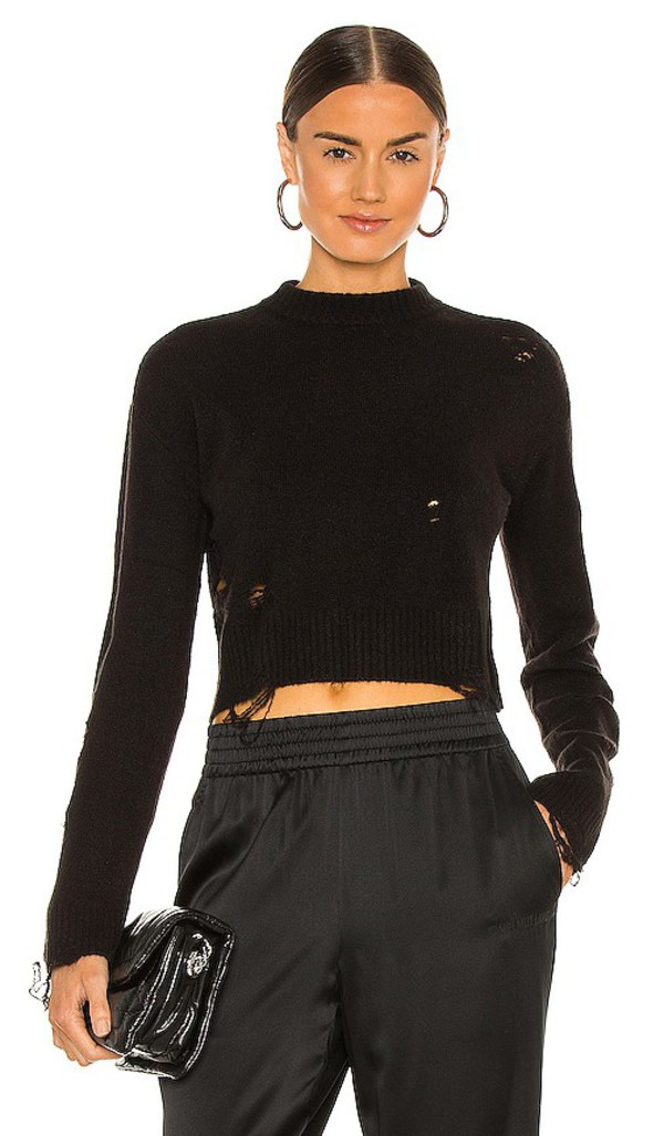 Lovers + Friends Lovers + Friends Lovers and Friends Adler Sweater in Black