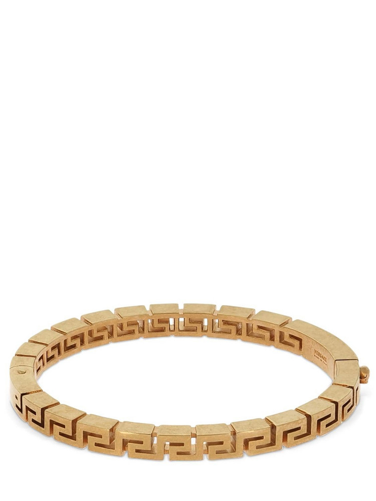 VERSACE Greek Motif Bangle Bracelet in gold