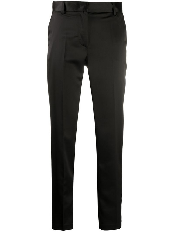 Manuel Ritz contrast panel trousers in black
