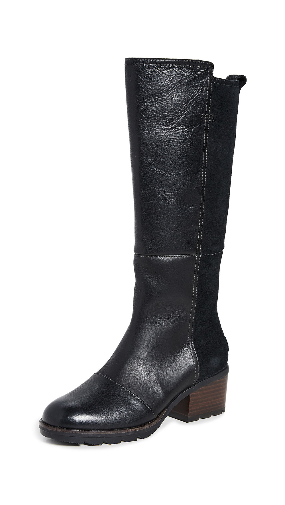 Sorel Cate Tall Boots in black