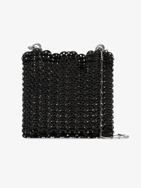 Paco Rabanne black Iconic 1969 chainmail shoulder bag
