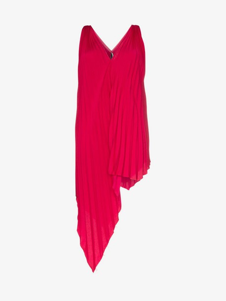 Poiret Draped pleated top in pink