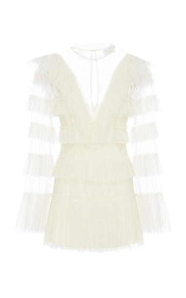 Alice McCall The Zen Dress Size: 12 in white