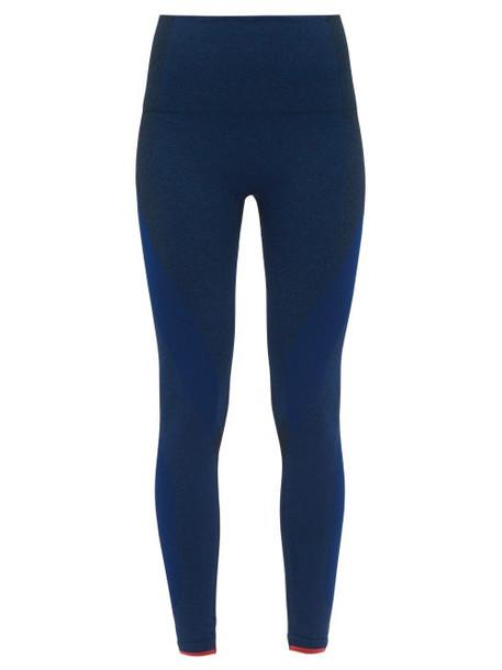 Lndr - Launch Stretch Jersey Leggings - Womens - Blue