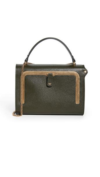 Anya Hindmarch Small Postbox Bag in natural