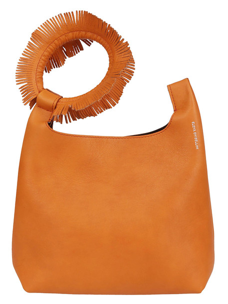 Elena Ghisellini Logo Tote in orange