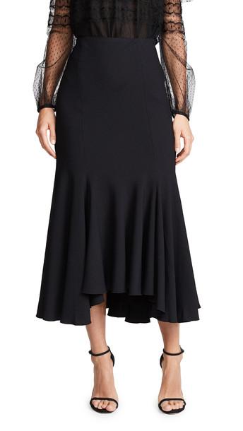 Giambattista Valli Ruffle Skirt in black