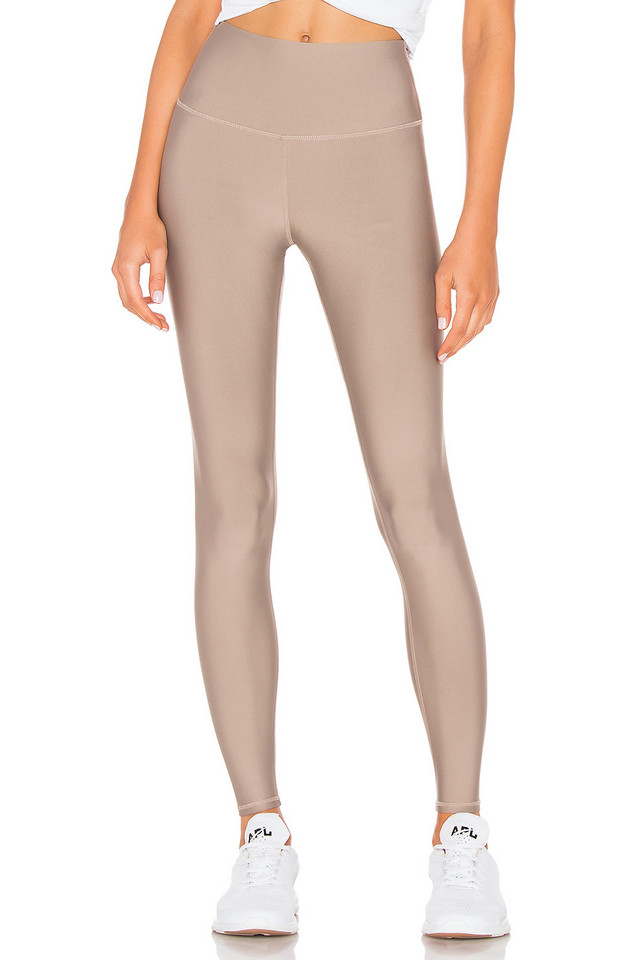 alo High Waist Airlift Legging in brown