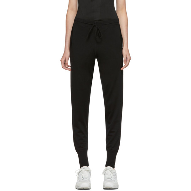 Ernest Leoty Black Merino Wool Bertille Trousers